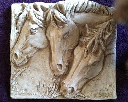 """Horses """"Friends""""  - thanks Kim"""